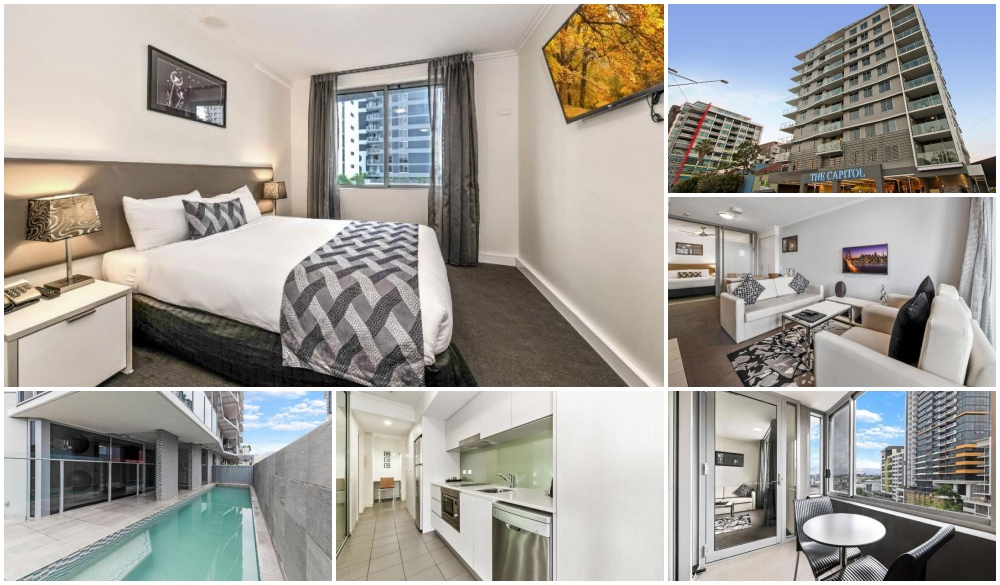 The Capitol Apartments, serviced apartments in Brisbane