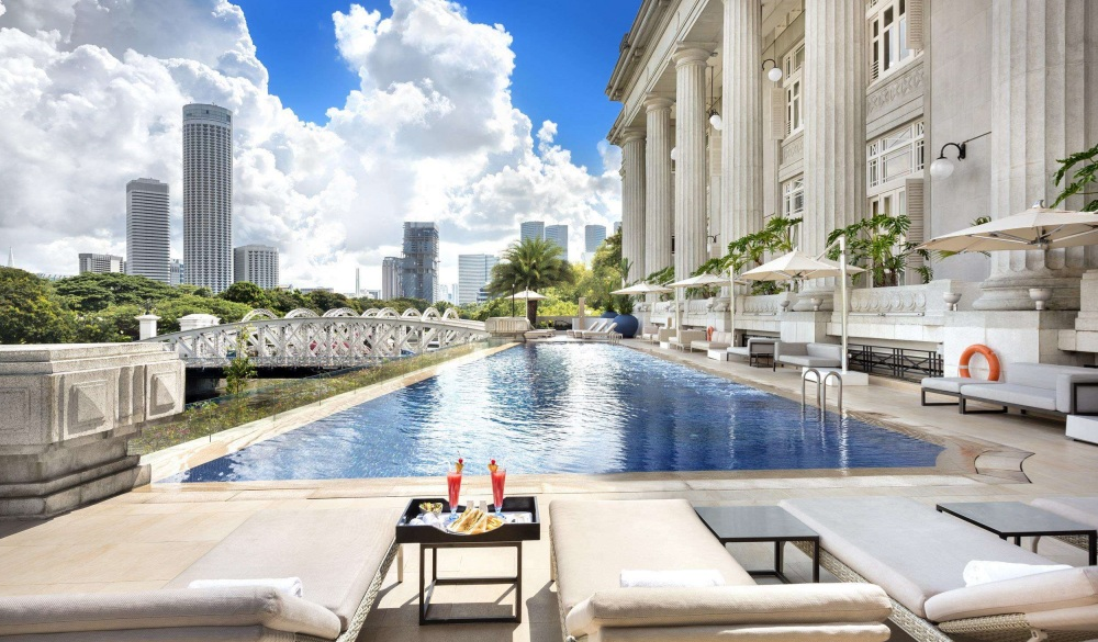 The Fullerton Hotel Singapore, best for staycation in Singapore
