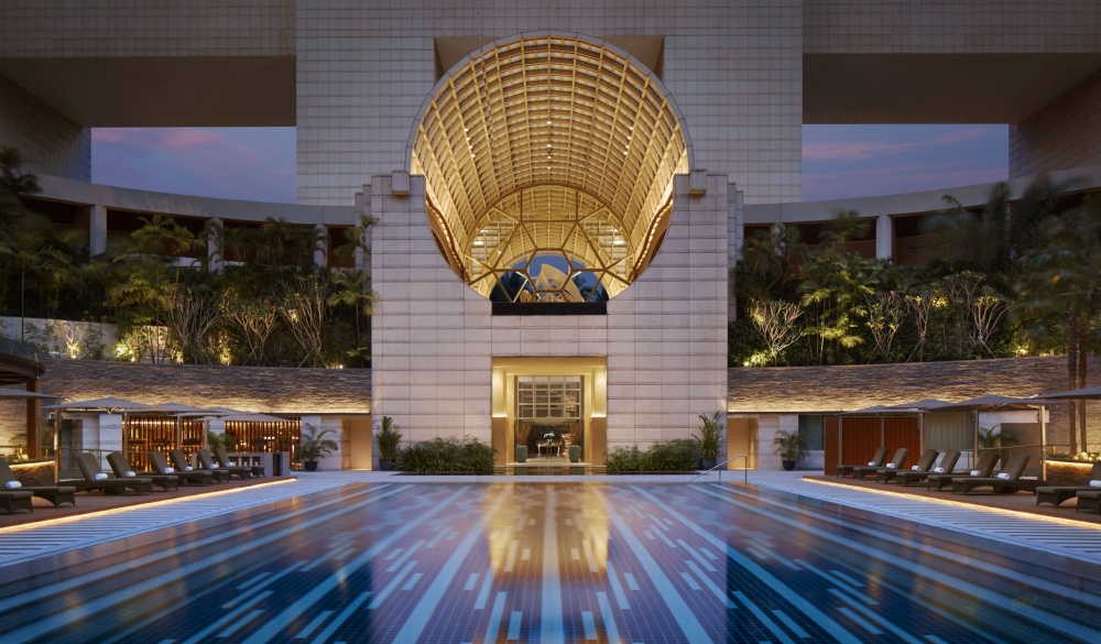 The Ritz-Carlton Millenia, Singapore, best for staycation