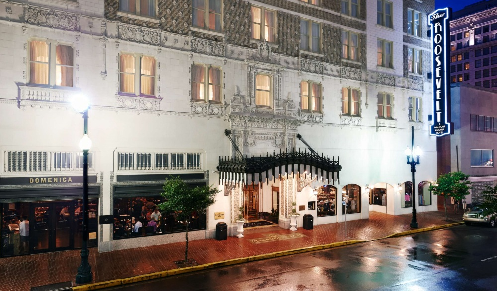 The Roosevelt New Orleans, A Waldorf Astoria Hotel, top hotel in CBD