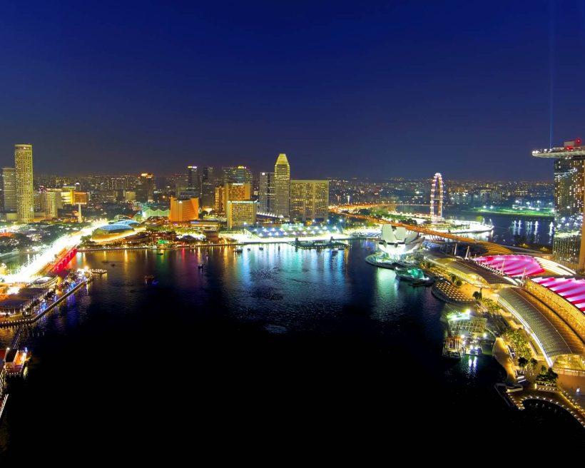 Singapore Marina Bay during Singapore Grand Prix