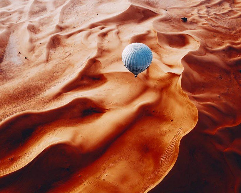 Velvety desert