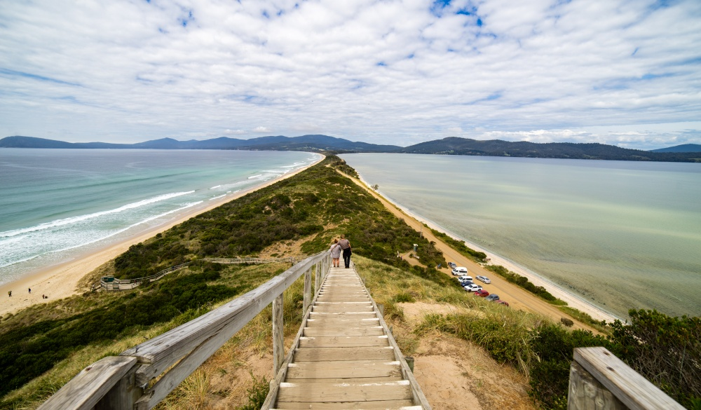 'The Neck' Bruny Island., Tasmania road trip destination