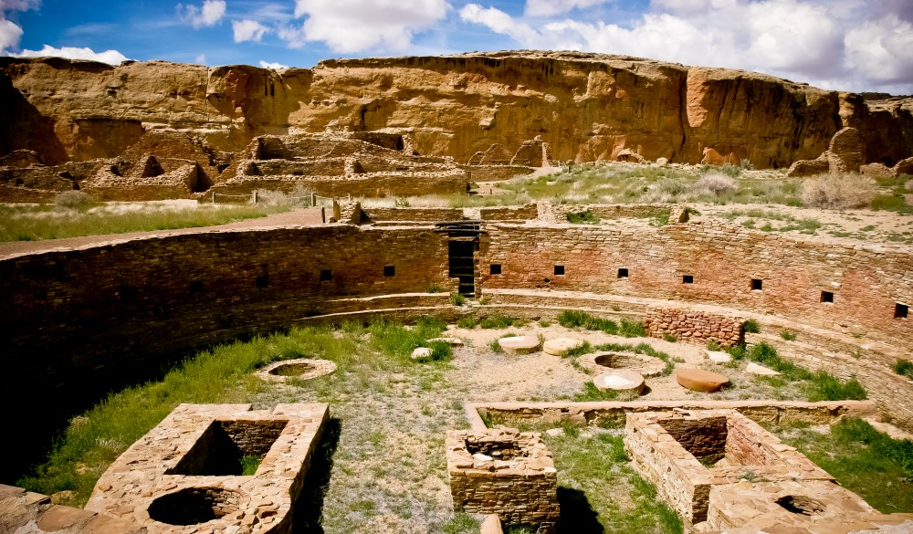 Kiva at the Chaco Culture National Park, UNESCo site