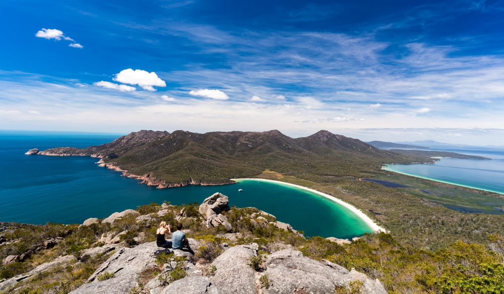 Wineglass Bay, Tasmania, road trip destinations
