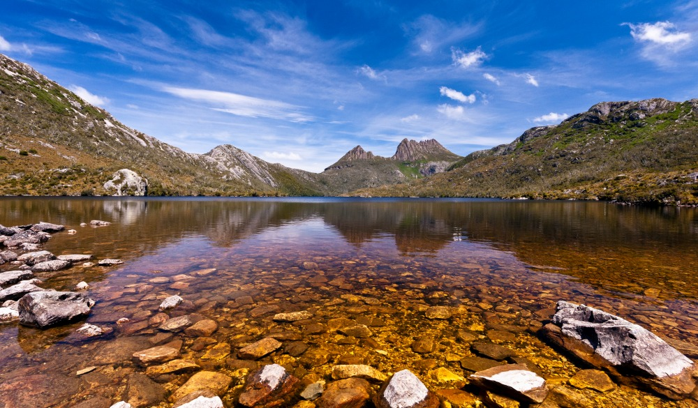 cradle mountain - Dove lake