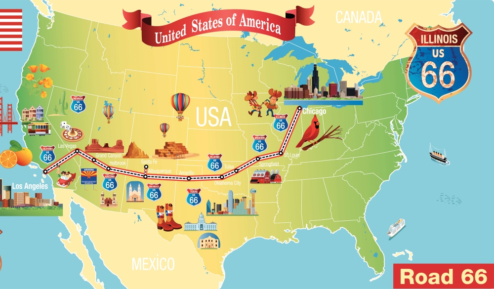 The Ultimate Route 66 Road Trip: From Illinois to California