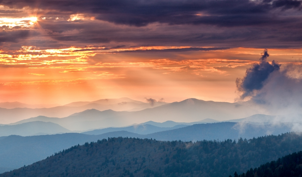 appalachian mountains, UNESCo site in the US
