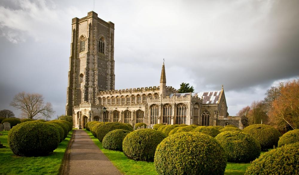 Church of St Peter and St Paul, Lavenham, Suffolk, hidden travel gems