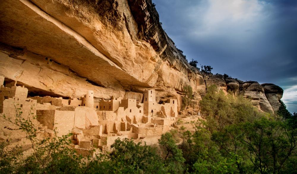 Colorado, Montezuma, Palace and Mesa Verde National Park, UNESCo site in the US