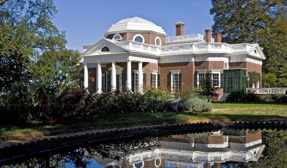 Monticello , UNESCO site in the US