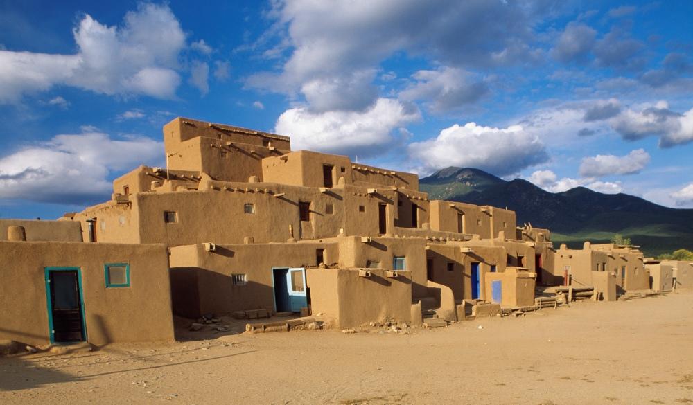 Taos Pueblo Village, UNESCO site in the US