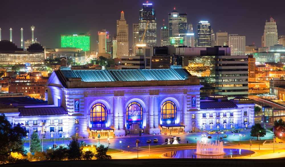 Downtown Kansas City and Union Station