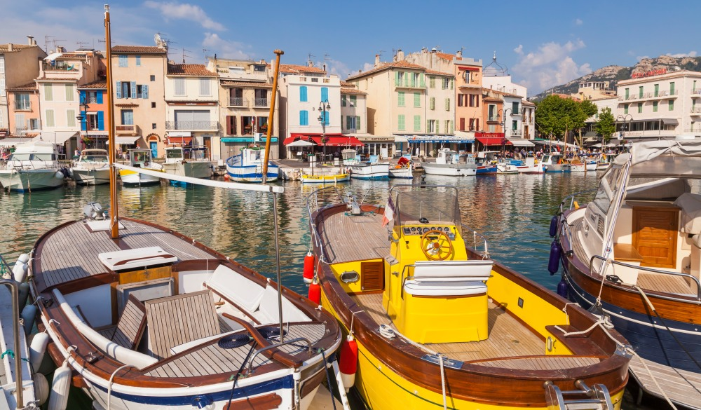 Cassis, Harbour, travel gems in europe