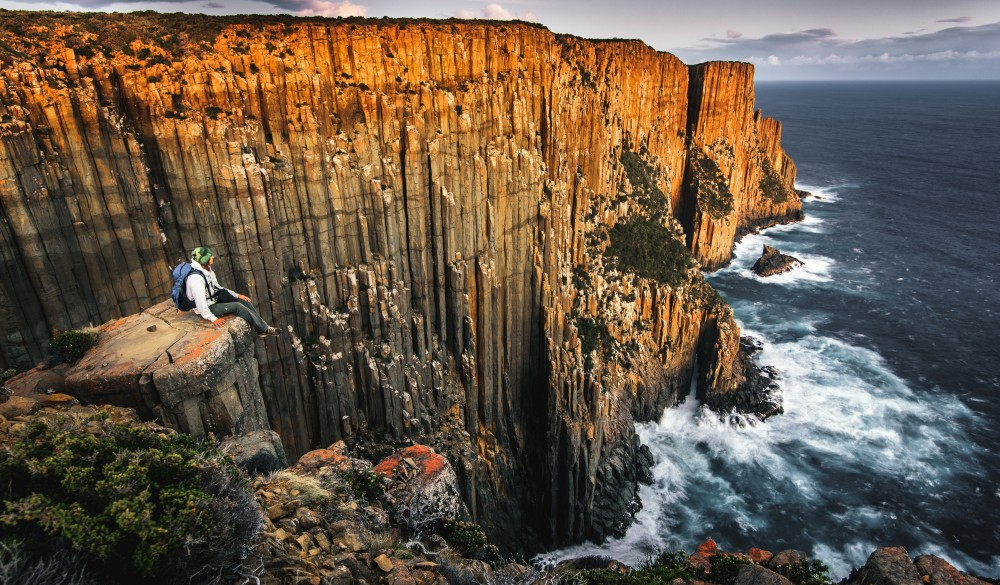 Cape Raoul, tasmania road trip destination