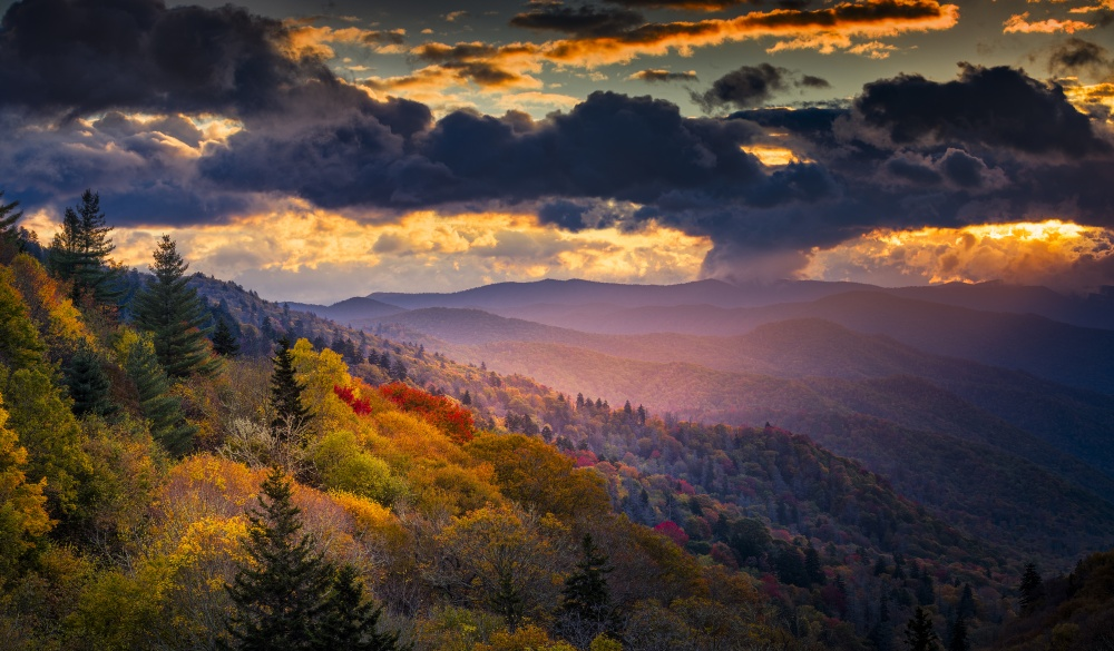 Great Smoky Mountains National Park;, UNESCo site in the US