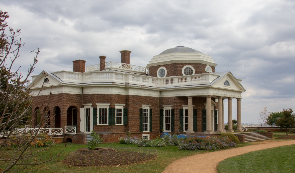 Home of Thomas Jefferson, Monticello, Virginia;