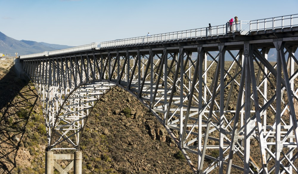 New Mexico, Taos, Rio Grande Gorge Bridge
