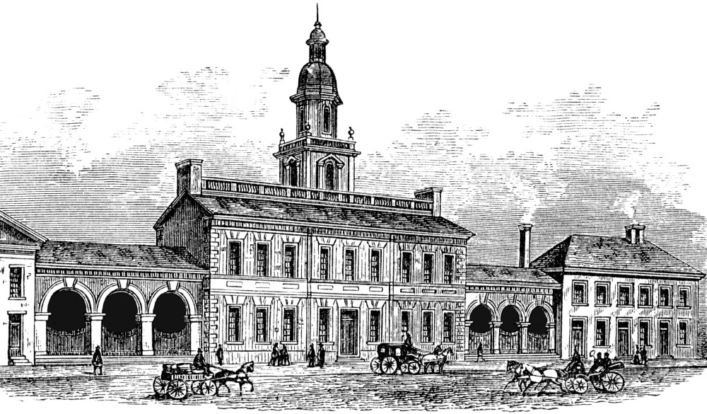 Independence Hall, UNESCO site in the US