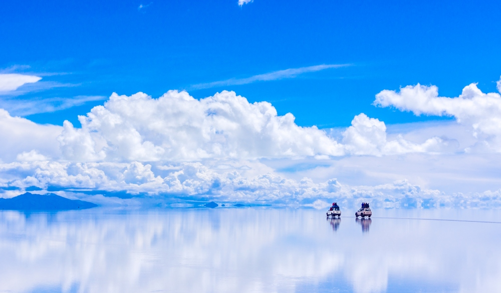 Cars On Salt Flat, bucket list
