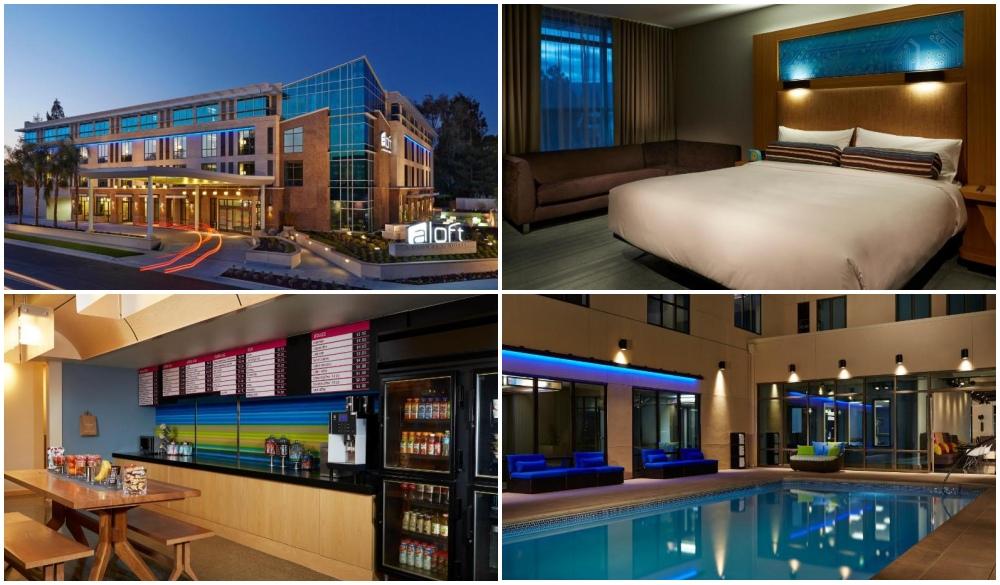 Aloft Cupertino – Cupertino, USA, hi-tech hotels