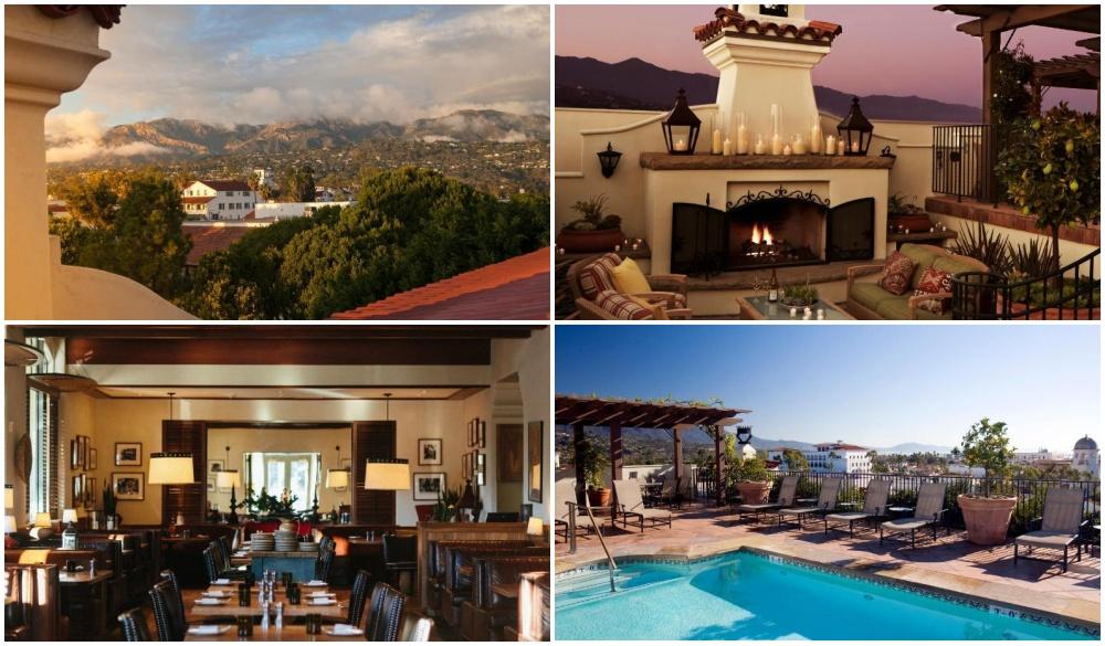 Canary Hotel, Santa Barbara, seaside hotel