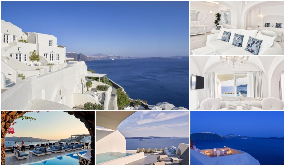 Canaves Oia Suites & Spa, hotel with infinity pool