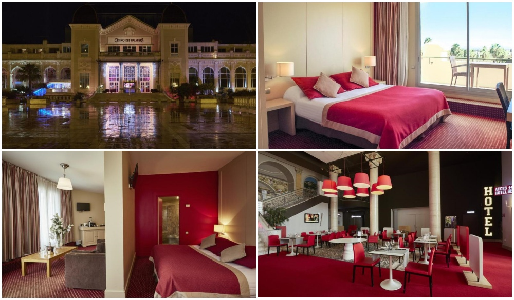 Casino Hotel Des Palmiers, hotel when you go on french riviera road trip