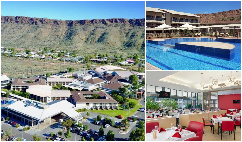 Crown Plaza Alice Springs, hotel for iconic australian road trip