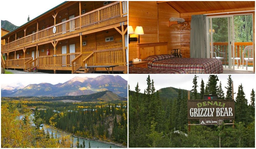 Denali Grizzly Bear Resort, best hotel in Alaska