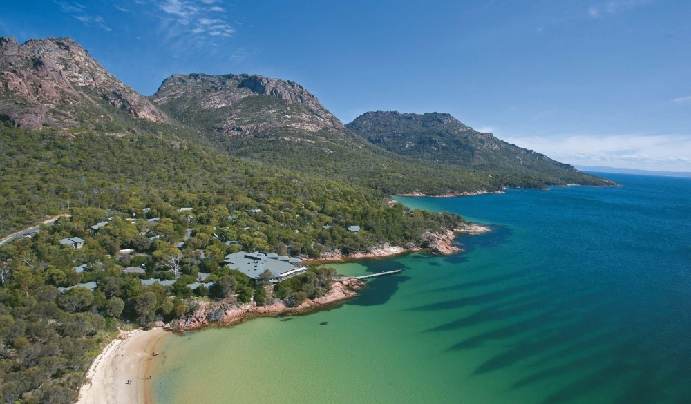 Freycinet Lodge, hotel for iconic Australian road trip