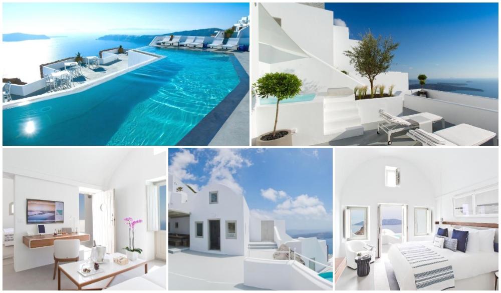 Grace Santorini, inifinity pool