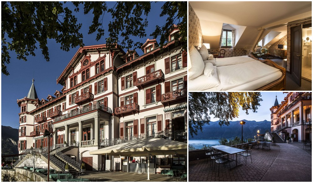 Grandhotel Giessbach, hotel for your visit to Switzerland