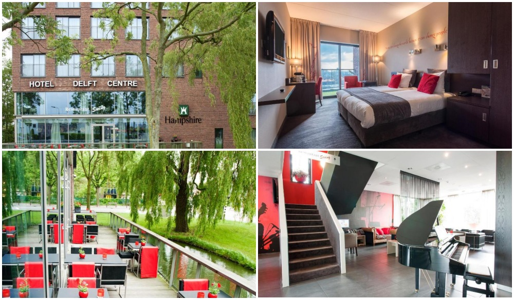 Hampshire Hotel - Delft Centre, hotel ina a small-town gems in Europe