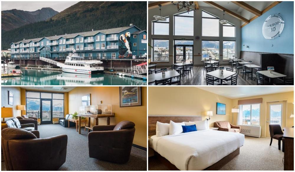Harbor 360 Hotel Seward, best hotel in Alaska