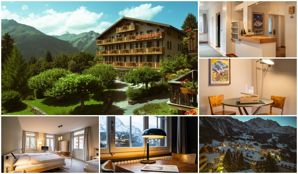 Hotel Alpenruhe - Vintage Design Hotel, best hotel when you visit Switzerland