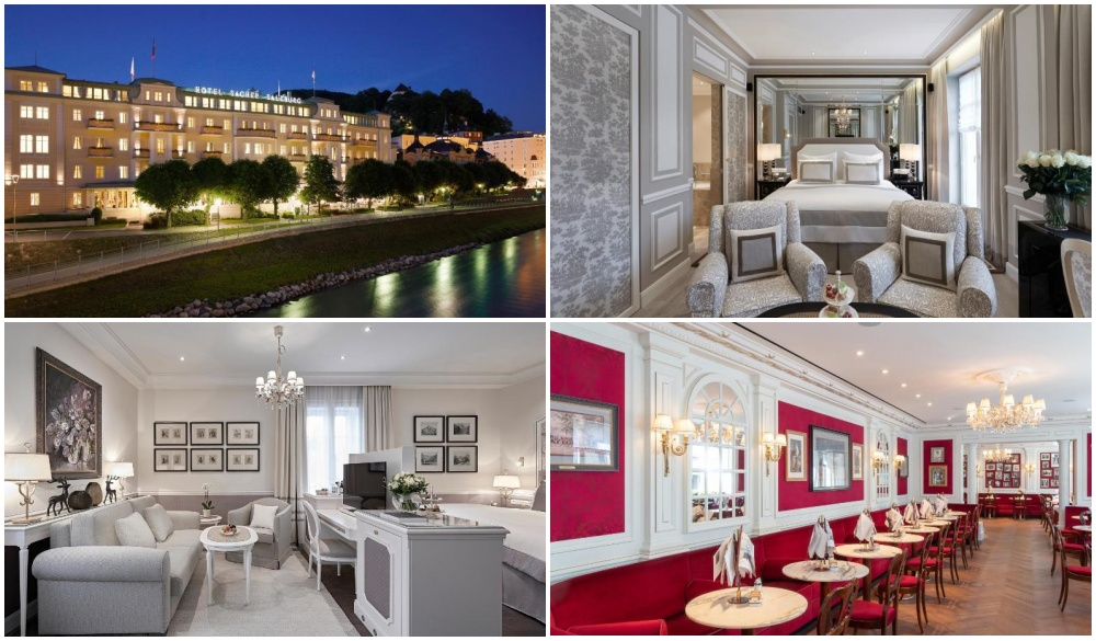 Hotel Sacher Salzburg, hotel for road trips in austria