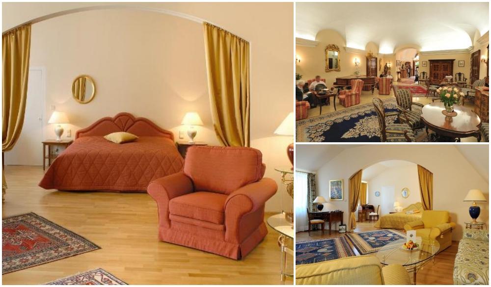 Hotel Schloss Durnstein, hotel fo road trips in austria