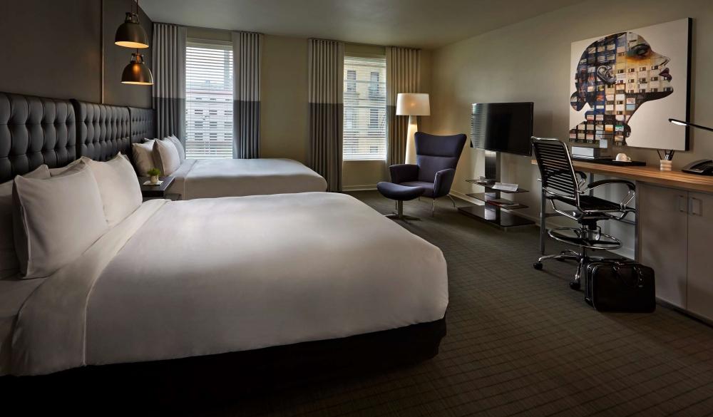Hotel Zetta – San Francisco, USA, hi-tech