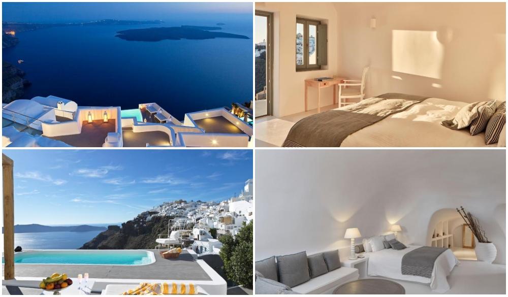 Katikies Chromata Santorini, hotel with infinity pool