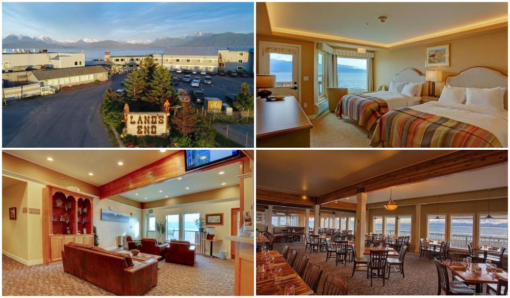 Land's End Resort, best hotel in Alaska