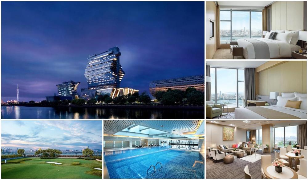 Langham Place Guangzhou, futuristic hotel
