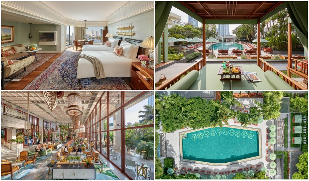 Mandarin Oriental Bangkok, stay in bangkok