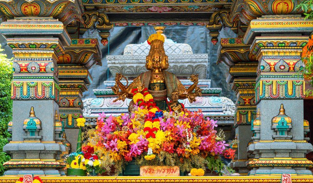 Mariamman Temple in Silom Road.