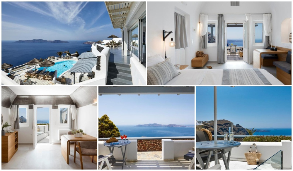 Santorini Princess Luxury Spa Hotel,hotel with infinity pool