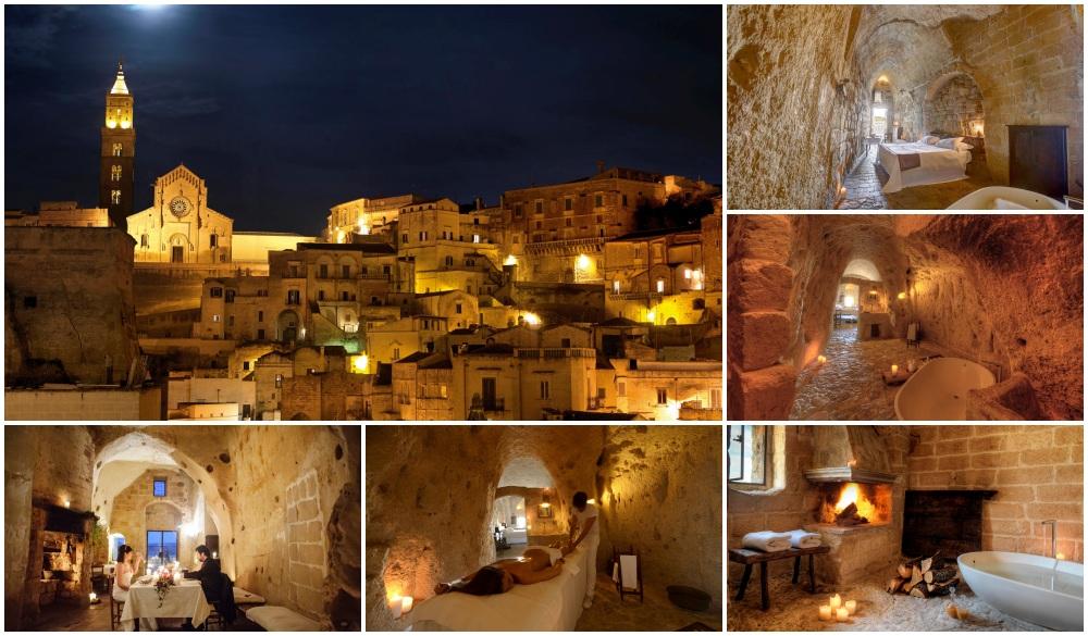Sextantio Le Grotte della Civita, hotel on your italian road trip