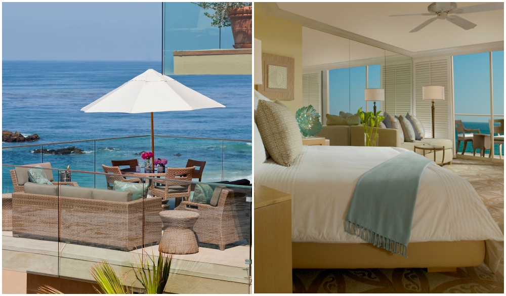 Surf & Sand Resort, Laguna Beach, souther california's seaside hotel