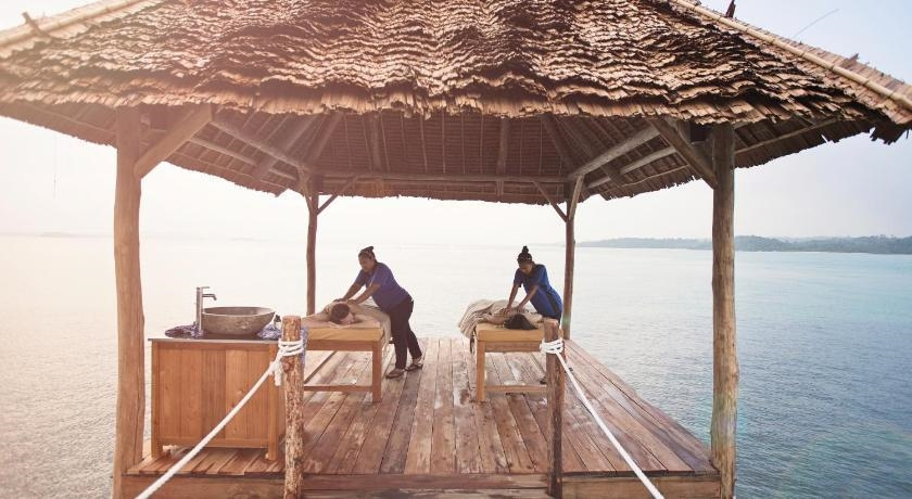 Telunas Private Island spa