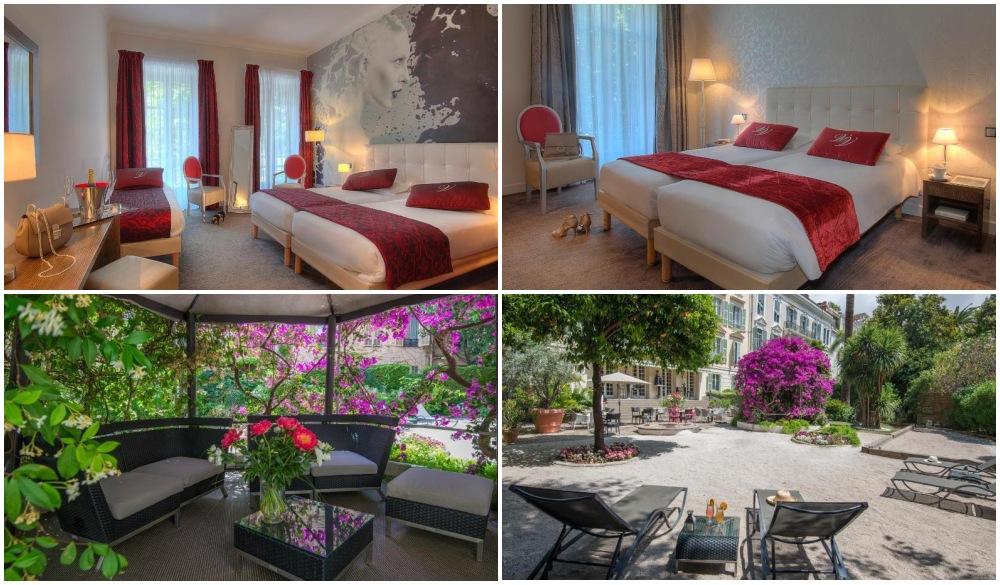Villa Victoria, hotel when you go on french riviera road trip