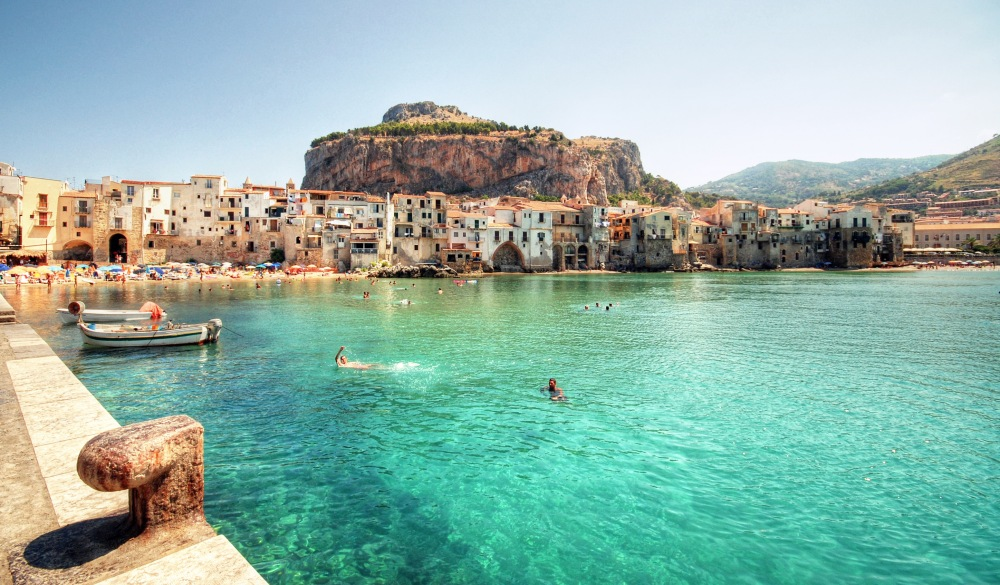 Coast of Cefalu, visit sicily